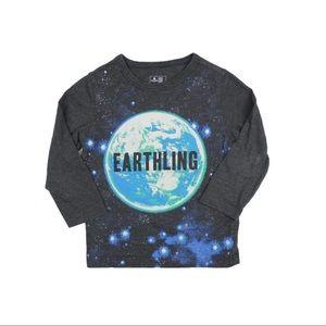 Gap Grey Earth Long Sleeve Shirt, Size 3